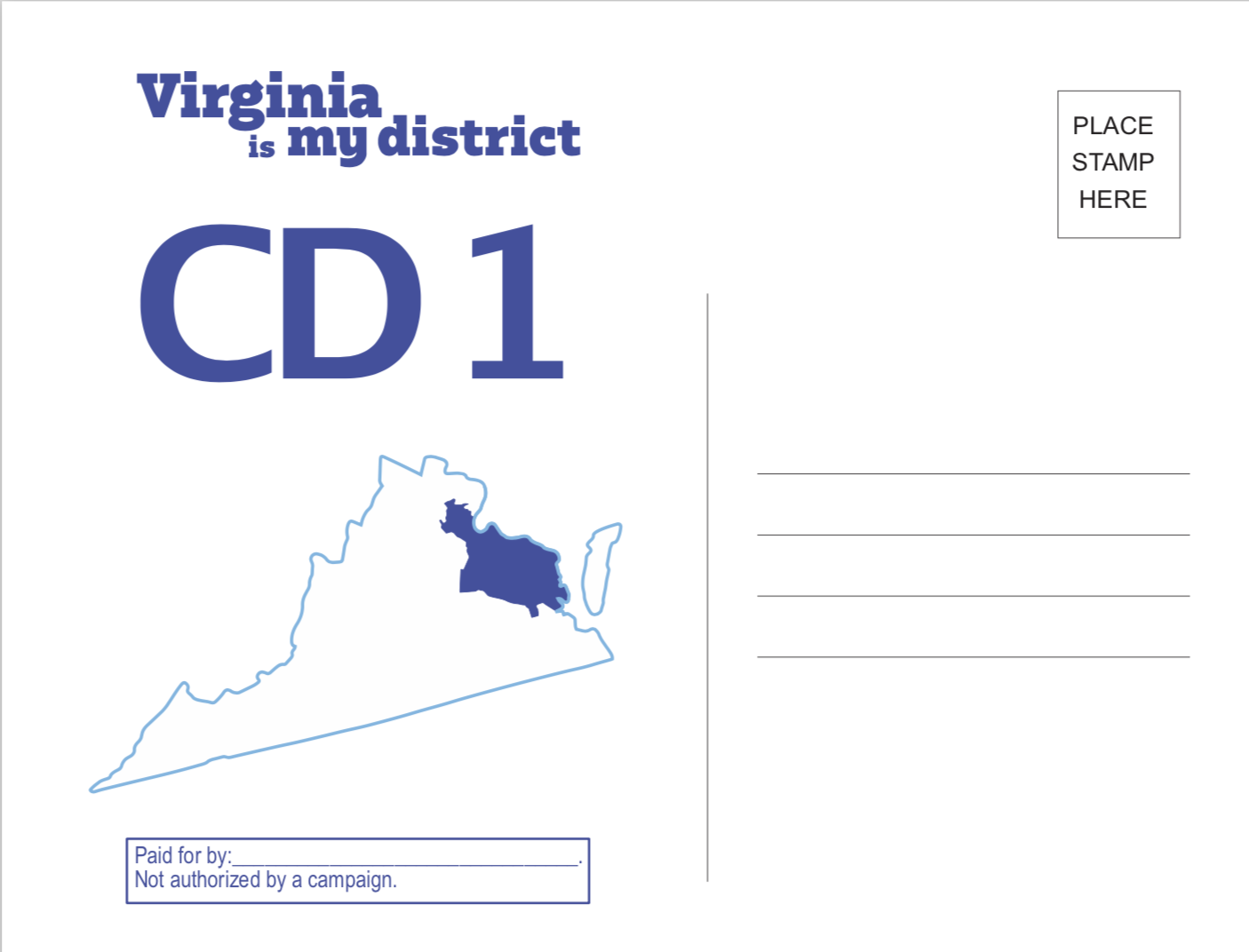 Guidelines And Templates Postcards For Virginia